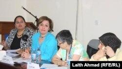 ناشطات عراقيات في مجال حقوق المرأة