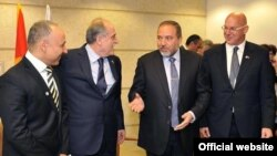Crnogorski i izraelski zvaničnici, 23. novembar 2011.