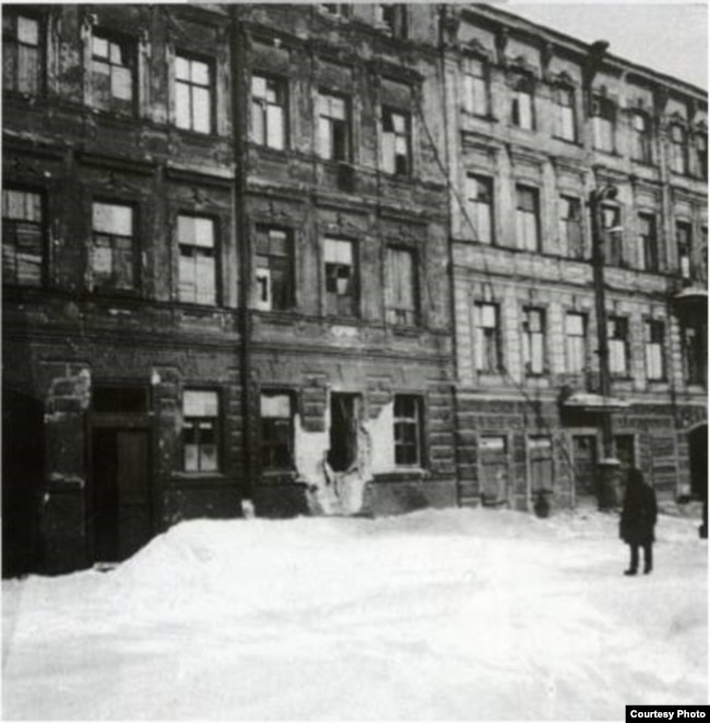 Блокадный Ленинград, фото Александра Никитина