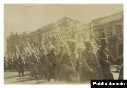 Soldați ruși la Odesa