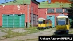 В Алматы трамвай остановили в 2015 году.