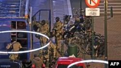 Полицейский рейд в Бельгии