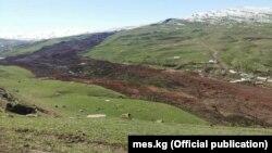 Жалпак-Таш айыл аймагындагы көчкү.