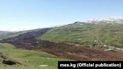 Оползень в селе Жалпак-Таш.