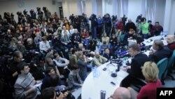Прес конференција на Руската лига на гласачи. Москва, 07.03.2012.