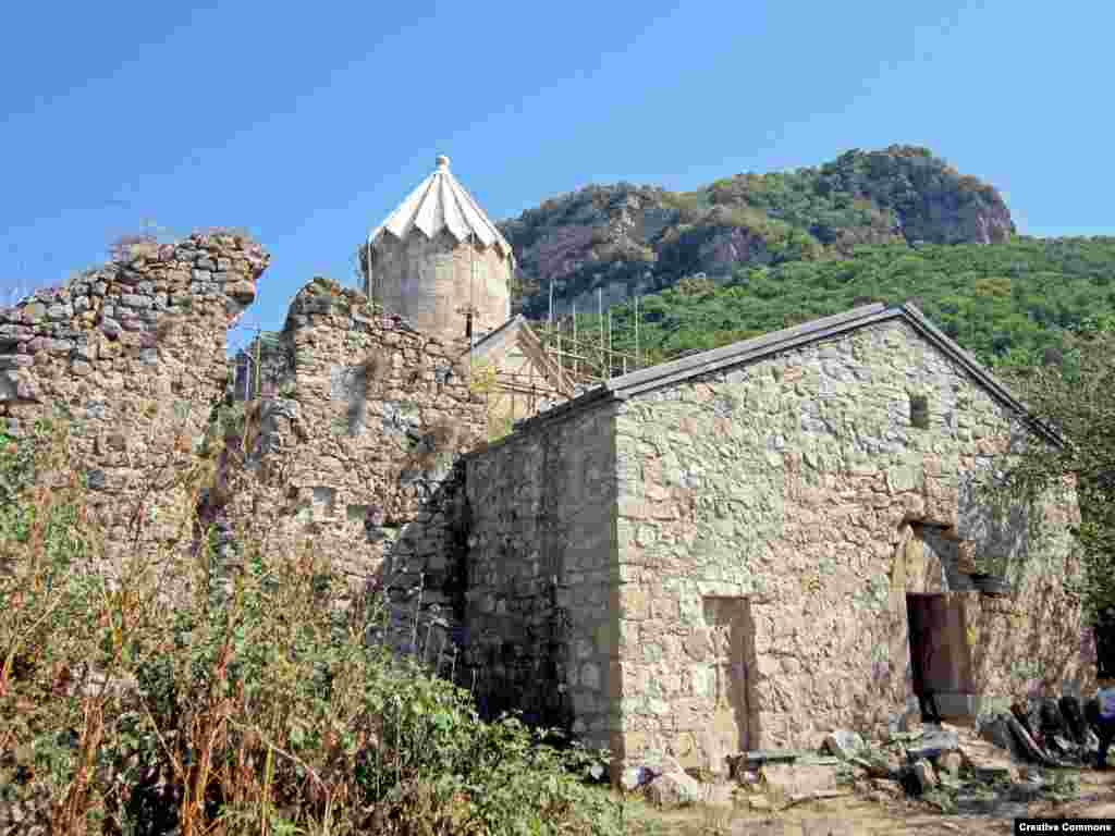 Gtichavank, a monastery in the Hadrut region