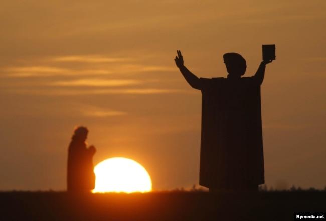 Помнік Францішку Скарыну ў Менску