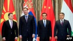Nikola Gruevski, Aleksandar Vučić, Li Kećijang i Viktor Orban
