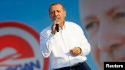 Режеп Тайып Эрдоган.