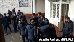 Qazax rayon prokurorluğu qarşısında aksiya