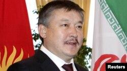 Қырғызстан парламентінің депутаты Ахматбек Келдібеков.