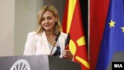 Министерката Нина Ангеловска