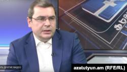 Председатель Комитета государственный доходов Давид Ананян, Ереван, 25 февраля 2019 г.