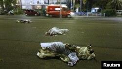 Ֆրանսիա - Ահաբեկչության հետևանքով զոհվածների դիակները Նիսում