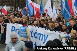 La protestele de la Varșovia