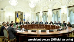 Засідання РНБО від 2 травня 2018 року