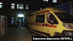 Машина «скорой помощи» в Керчи. Иллюстрационное фото