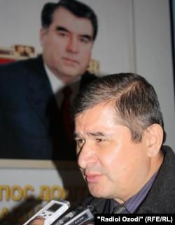 Раҳматилло Зоиров, раҳбари Ҳизби сотсиал-демократи Тоҷикистон
