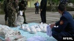 Запленет хероин во Таџикистан.