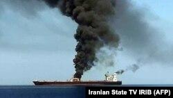 Tanker u Hormuškom zaljevu
