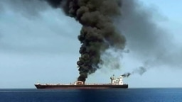 روز پنجشنبه ۲۳ خرداد دو نفتکش در دریای عمان هدف قرار گرفتند. آمریکا میگوید این حمله کار ایران است. اما ایران تکذیب میکند.