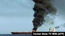 Танкер, атакованный 13 июня 2019 в Оманском заливе