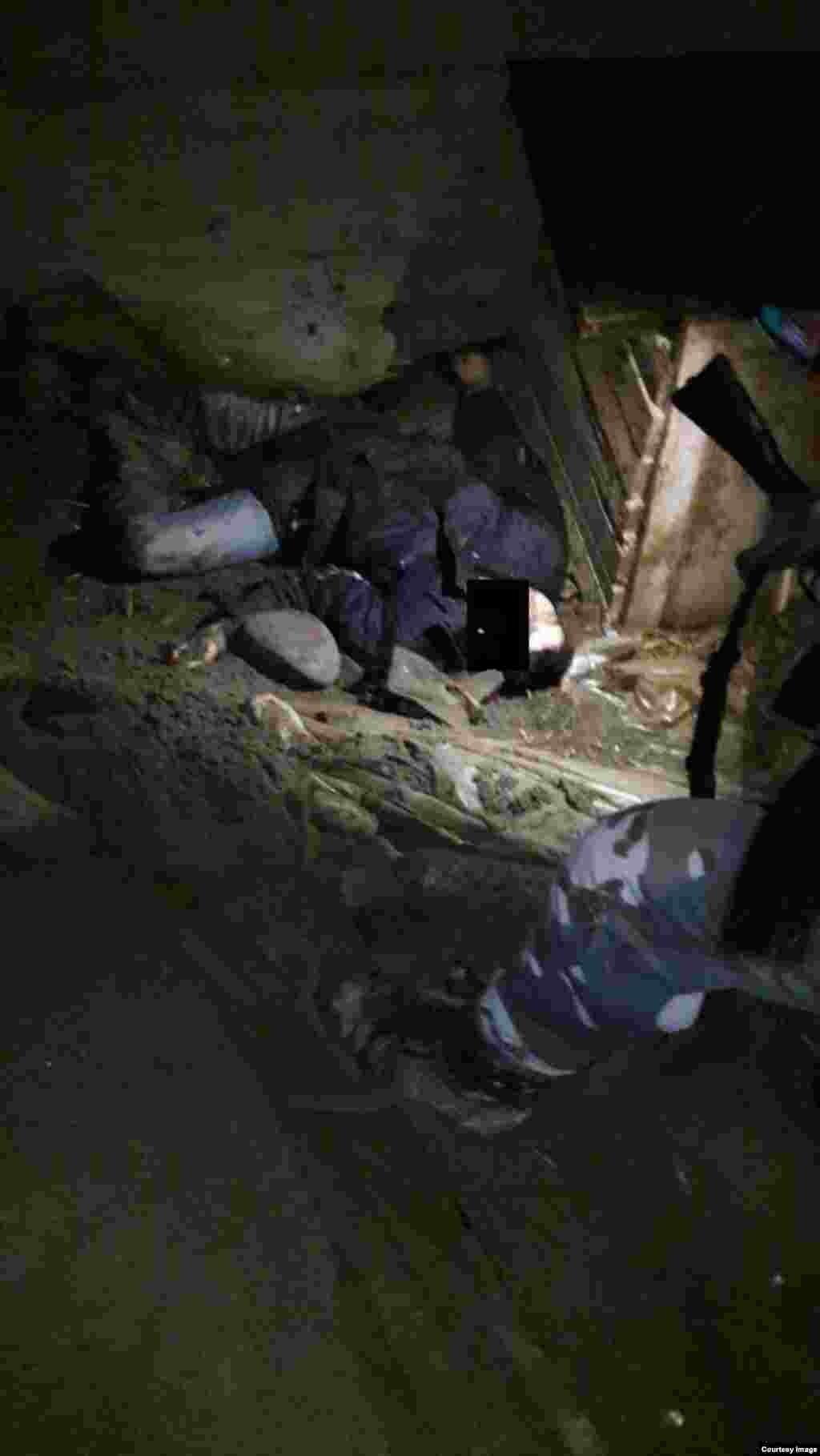 В среду пополуднив перестрелке между селами Курчалой и Гельдыген были убиты неизвестные