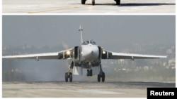 Pamje e aeroplanit luftarak rus Su-24