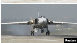 Российский истребитель Су-24