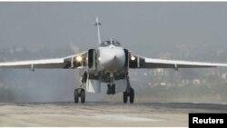 Російський бомбардувальний Су-24