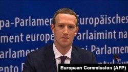 Mark Zuckerberg Avropa Parlamentində