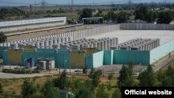 Запароская АЭС, бочкі з адпрацаваным палівам