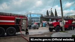 Пожежні на місці події