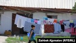 Kyrgyzstan -- life in the new villages, Bishkek, 7 July 2014