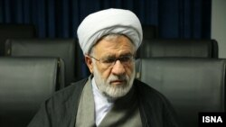 Shokrollah Bahrami head of Iranian armed forces Judicial Organization. File photo