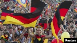 Tifozët gjermanë