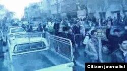 Үкіметке қарсы наразылық шеруі. Тегеран, 2011 жыл