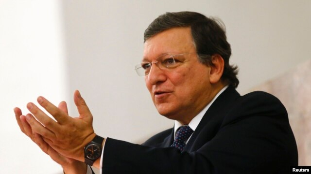 Jose Manuel Barroso steps down after 10 years at the head of the EU's executive.