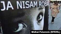 Evropski dan zaštite i borbe protiv trgovine ljudima, Sarajevo, oktobar 2011.