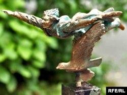 Узнагарода ляўрэату прэміі «За свабоду думкі імя Васіля Быкава»