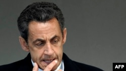 Former President Sarkozy has struck a conciliatory tone with Russia