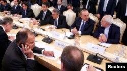 """Šefovi diplomatija Turske, Rusije i Irana nakon ubistva ruskog ambasadora sastali su se dan prije nego je planirano i potvrdili spremnost da sarađuju u borbi protiv militanata """"Islamske države"""" i """"Nusra fronta"""""""