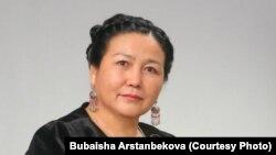 Датка псевдоними менен белгилүү акын Бүбайша Арстанбекова.