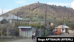 Село Двани на административной границе Южной Осетии и Грузии.