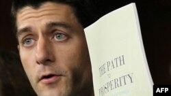 Кандидат у віце-президенти США від республіканців Пол Раян критикував економічну політику Обами ще в статусі голови бюджетного комітету Палати представників Конгресу США, 2011 рік