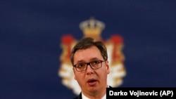 Архива: Српскиот претседател Александар Вучиќ.