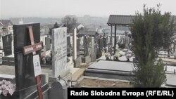 Стари православни гробишта во Тетово.
