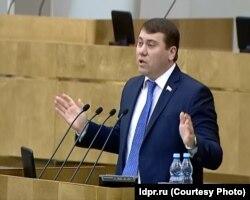 Кандидат от ЛДПР Иван Абрамов