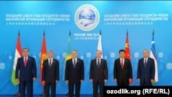 ШКУга мүчө мамлекеттердин президенттери
