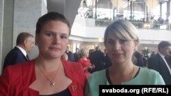 Вера Шырокая і Валянціна Шадзейкіна